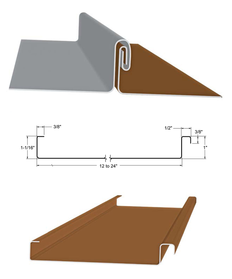 Double Lock Standing Seam Roof