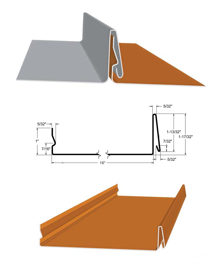 SnapLock Standing Seam Panels