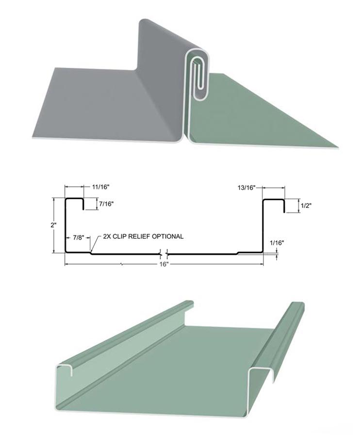 ARMCO Standing Seam Panels